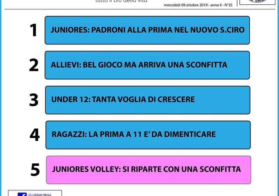 Gazzetta del Velate #35